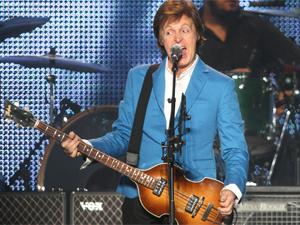 Paul McCartney em apresentação no Brasil em 2010 - Crédito: Foto: Arquivo/Daigo Oliva/G1