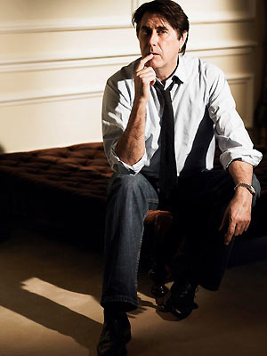 O cantor e compositor britânico Bryan Ferry  - Crédito: Foto: Divulgação