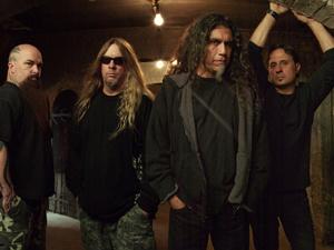 A banda Slayer - Crédito: Foto: Divulgação