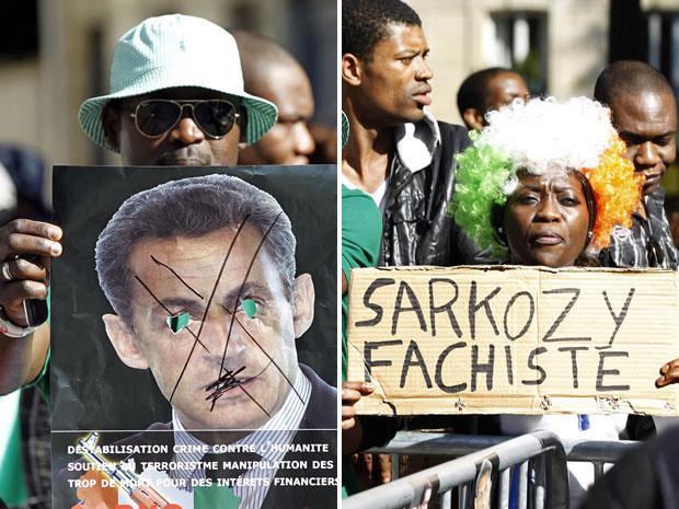Manifestantes pró-Gbagbo fizeram nesta quarta-feira - Crédito: Foto: Charles Platiau/Reuters