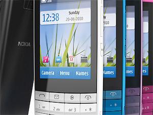 Nokia X3 está disponível em várias cores  - Crédito: Foto: Divulgação