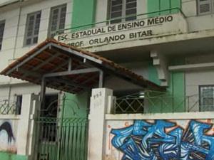 Aluno é esfaqueado por colega de classe em escola no Centro de Belém - Crédito: Foto: Reprodução/TV Liberal