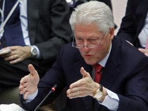 Bill Clinton em reunião do Conselho de Segurança da ONU nesta quarta - Crédito: Foto: Bebeto Matthews/AP