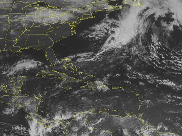 Imagem de satélite desta quarta-feira - Crédito: Foto: AFP