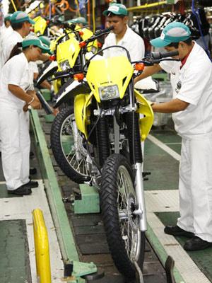 Produção e vendas de motos no Brasil se recupera   - Crédito: Foto: Divulgação