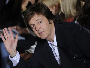 O cantor Paul McCartney, que voltará ao Brasil em maio. - Crédito: Foto: Reuters