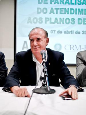 """José Macedo, presidente da AMP: \""""população vai entender\"""" - Crédito: Foto: Vinícius Sgarbe/G1 PR"""