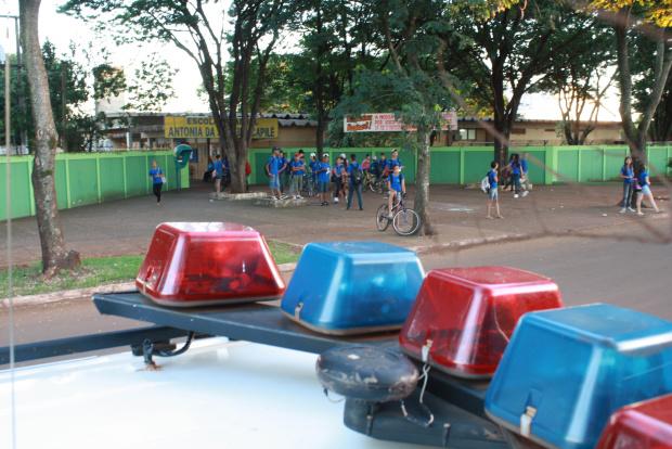 Guarda Municipal mantém segurança com ronda escolas em Dourados - Crédito: Foto: Hedio Fazan/PROGRESSO