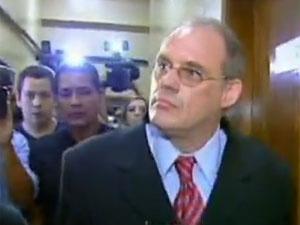 Ricardo Neis, investigado por atropelar ciclistas em Porto Alegre - Crédito: Foto: TV Globo/Reprodução