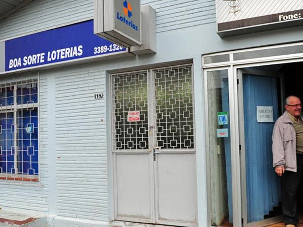 Lotérica \'Boa Sorte\' registrou aposta vencedora de Mega-Sena - Crédito: Foto: Mauro Vieira/Zero Hora/Agência RBS