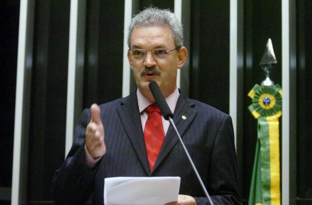 Geraldo discursa na Conferência de Abertura da UEMS - Crédito: Foto: Edmir Conceição
