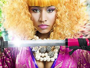A cantora Nicki Minak - Crédito: Foto: Divulgação