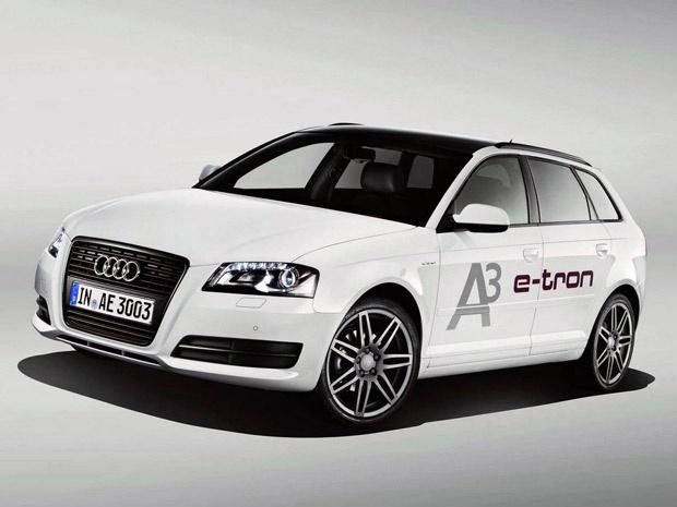 Audi A3 E-tron - Crédito: Foto: Divulgação