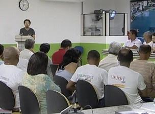 Representantes discutiram obras do Porto Sul  - Crédito: Foto: Reprodução/TVBahia