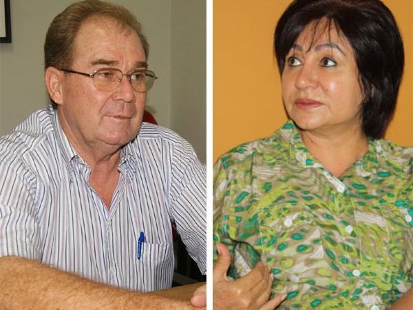 Vereador Idenor e Délia disputam na Justiça a presidência da Câmara - Crédito: Foto: Hédio Fazan/PROGRESSO