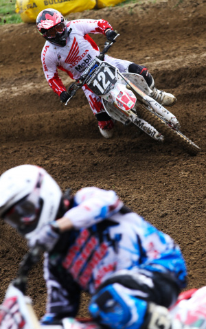 Wellington Garcia, piloto Honda no Mundial de Motocross - Crédito: Foto : Luiz Pires/VIPCOMM