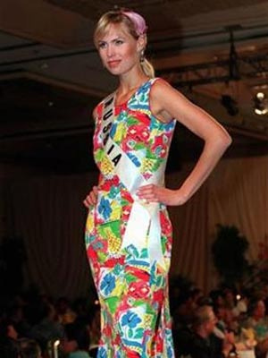 A modelo Anna Malova, que foi coroada Miss Rússia em 1998 - Crédito: Foto: Reuters