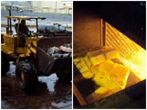 Foram incineradas quantidades de maconha, cocaína e haxixe - Crédito: Foto: Divulgação