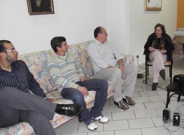 Adiles Torres firma parceria com o Secretário de Educação Walteir Bettoni - Crédito: Foto : Divulgação
