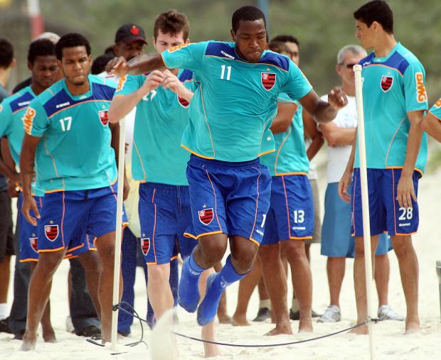 Renato Abreu, meia do Flamengo - Crédito: Foto: Maurício Val/VIPCOMM