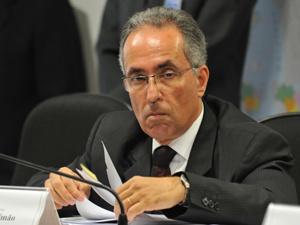 Cláudio Passos Simão durante sabatina na Comissão de Infraestrutura do Senado - Crédito: Foto: Antonio Cruz/AB