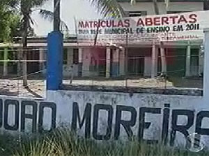Escola infantil foi tomada por formigas  - Crédito: Foto: Reprodução/TV Sergipe