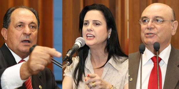 Zé Teixeira, Mara Caseiro e Tetila cobram fim da morosidade no Incra de MS - Crédito: Foto : Divulgação