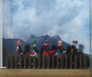 Séries, da artista plástica Elisa Galefi  - Crédito: Foto: Divulgação