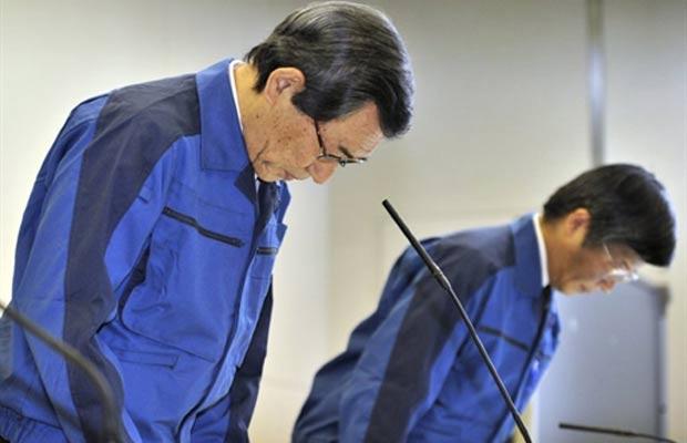 Presidente da Tokyo Electric Power Co - Crédito: Foto: AFP