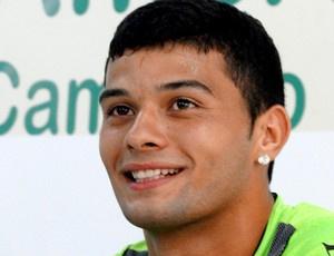 William Morais na apresentação no América-MG  - Crédito: Foto: Tarcísio Badaró / Globoesporte.com