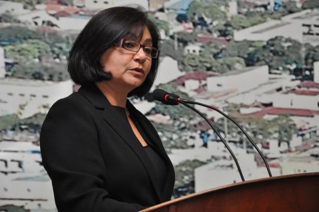 Délia anuncia que vai recorrer da decisão que considerou legal uma 2ª eleição na Mesa Diretora - Crédito: Foto: Hédio Fazan/PROGRESSO