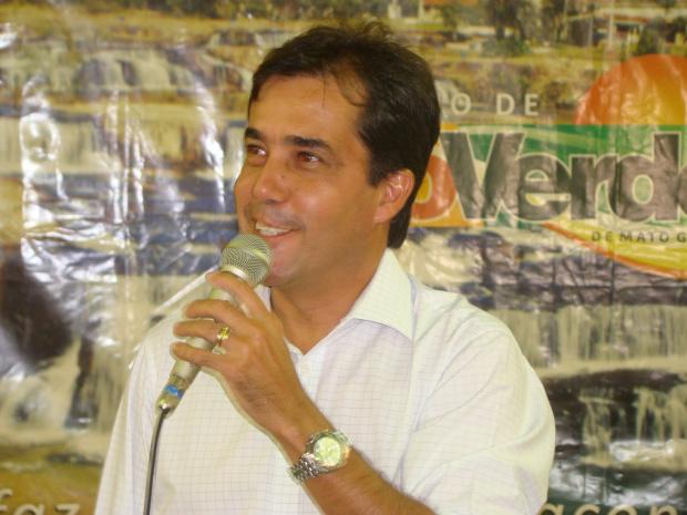 Willian Douglas de Souza Brito, prefeito de Rio Verde, foi expulso do PPS - Crédito: Foto : Divulgação