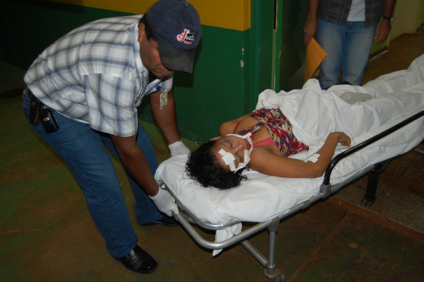 Mulher foi agredida com pedradas no rosto após saída de festa - Crédito: Foto: Antonio Carlos Ferrari