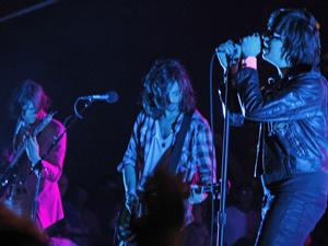 A banda nova-iorquina The Strokes - Crédito: Foto: AP