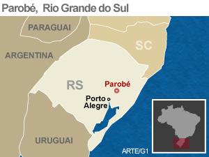 Após vendaval, cidade no Rio Grande do Sul decreta emergência -