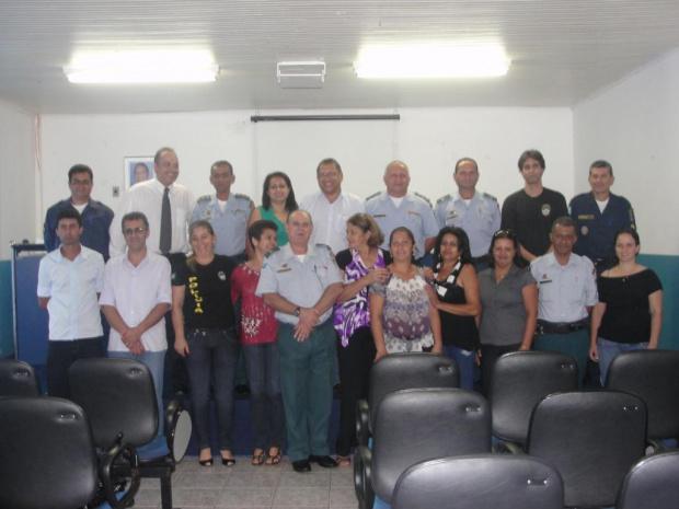 Foram empossados os membros do Conselho Municipal de Segurança Pública - Crédito: Foto : Divulgação
