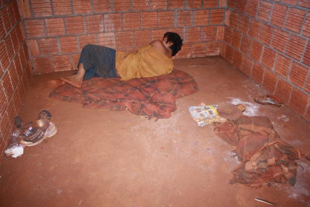 Jovem é refém das drogas e álcool  - Crédito: Foto : Hedio Fazan/PROGRESSO