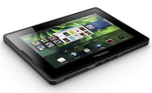 O PlayBook, tablet da RIM, mesma fabricante do smartphone BlackBerry - Crédito: Foto: AP