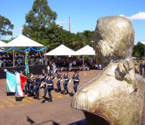 O Tiradentes era militar e sua história de vida inspira policiais militares do país - Crédito: Foto: Divulgação