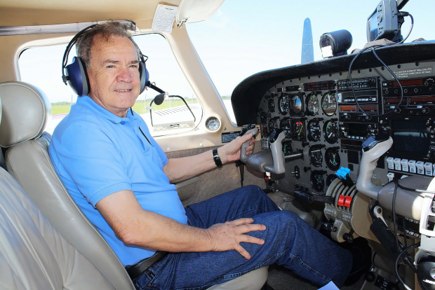 Empresário piloto Waldir Guerra, ex-deputado federal, é articulista deste jornal há seis anos - Crédito: Foto: Divulgação