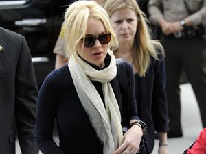 Lindsay Lohan no tribunal em Los Angeles nesta sexta-feira - Crédito: Foto: Reuters