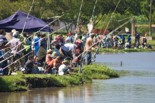 Mais de 1.500 pessoas participaram do torneio de pesca - Crédito: Foto: Assecom