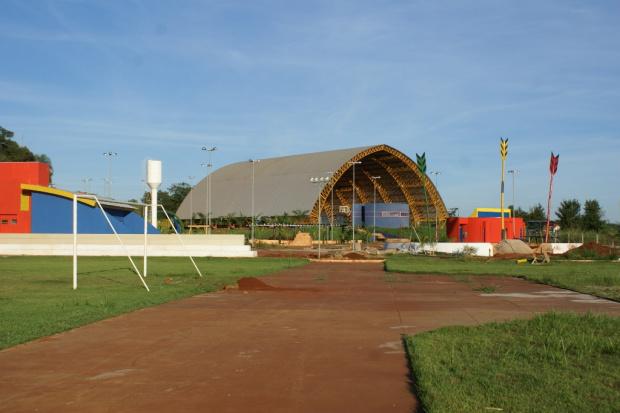 Legenda: Obras estão em fase de acabamento e devem ser concluídas até o fim do mês - Crédito: Foto: Divulgação