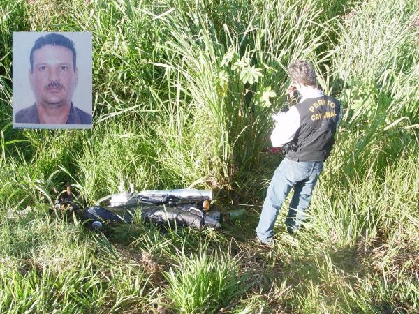 Vítima foi encontrada caída em ribanceira - Crédito: Foto: Sidnei Bronka