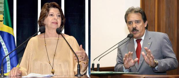 Marisa Serrano e Arroyo disputam indicação para o Tribunal de Contas - Crédito: Foto : Divulgação