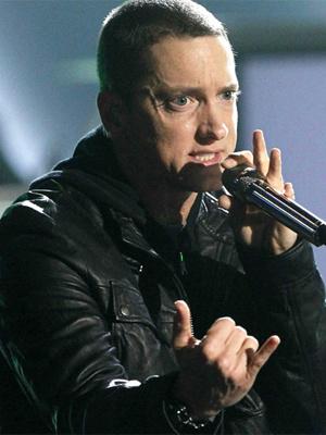 O rapper americano Eminem - Crédito: Foto: Reuters