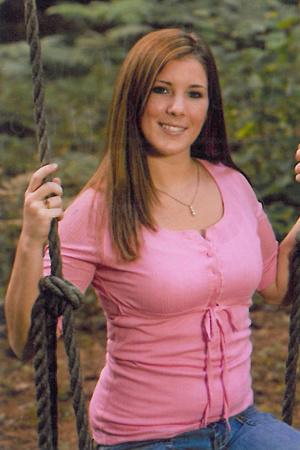 Krista Dittmeyer em foto de álbum de família - Crédito: AP