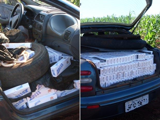 Após perseguição, motorista conseguiu fugir. - Crédito: Foto: Divulgação