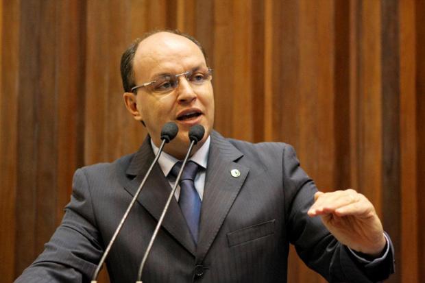 Mochi, em discurso, critica Ministério Público Estadual - Crédito: Foto : Divulgação