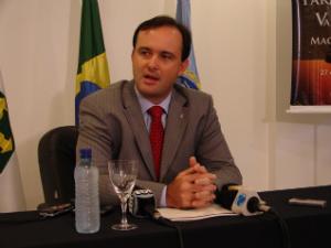 O presidente da Associação dos Juízes Federais do Brasil, Gabriel Wedy. - Crédito: Foto: G1